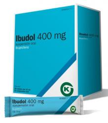 IBUDOL 400mg Suspension Oral (20 sobres)