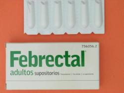 FEBRECTAL ADULTOS 600mg (6 supositorios)