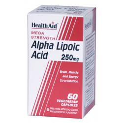 Acido Alpha Lipoico 250mg (60caps)