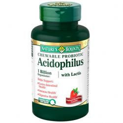 ACIDOPHILUS Masticable FRESA (60comp)