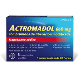 Actromadol® 660MG (8 COMPRIMIDOS)