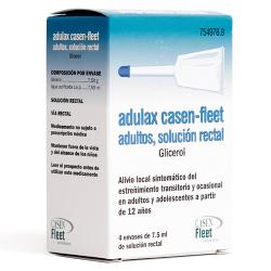 ADULAX SOLUCIÓN RECTAL  (4 enemas de 7,5ml)