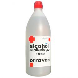 ALCOHOL 96º Sanitario ORRAVAN (1.000ml)