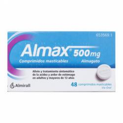 ALMAX 500mg (48comp. Masticables)