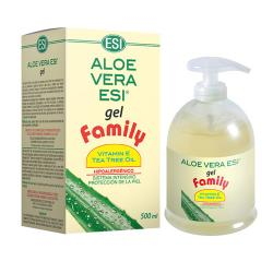 Aloe Vera Gel Family con Arbol de Té (500ml)