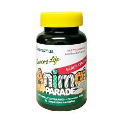 Animal Parade Cereza Multivitamínico para Niños (60comp)