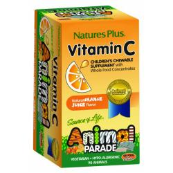 Animal Parade Vit. C- Niños (90comp. Masticables)