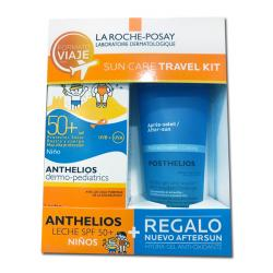 Anthelios Dermo-Pediatrics Leche SPF 50+ (100ml) + PostHelios HidroGel Antiox de REGALO!!
