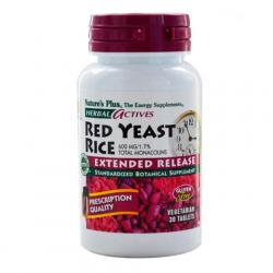 Arroz Levadura Roja- Red Yeast 600mg (30caps)