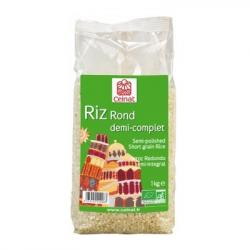 Arroz Redondo Semi Integral (1kg)