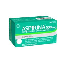 ASPIRINA 500mg (20 comp. efervescentes)