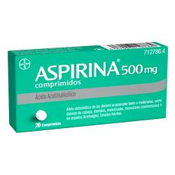 ASPIRINA 500mg (20comp)
