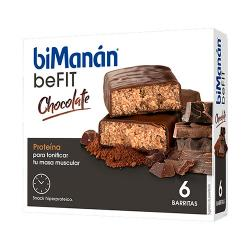 BEFIT Barritas de Chocolate (6uds)
