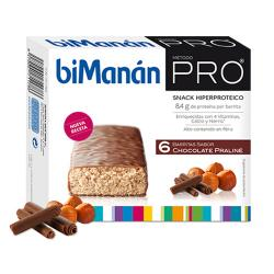 Barritas Chocolate Praliné (6uds)