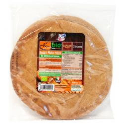Base de Pizza Integral de Espelta 300g (2 bases)