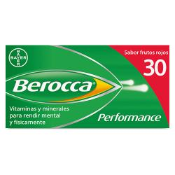 Berocca Performance Frutos Rojos (30comp. efervescentes)