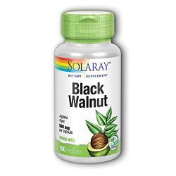 Black Walnut Hull - Nogal Negro 500mg (100 vegcaps)