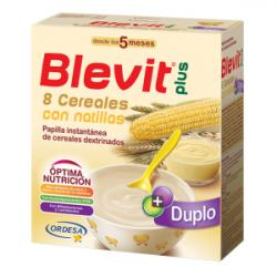 Blevit Plus Duplo 8 Cereales con Natillas (600g)