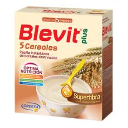 BLEVIT Plus Superfibra 5 Cereales +5Meses (600g)