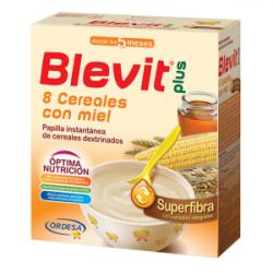 BLEVIT Plus Superfibra 8 Cereales con Miel +5 Meses (600g)