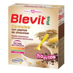 Blevit Plus Trocitos Cereales con Pepitas Chocolate (600g)