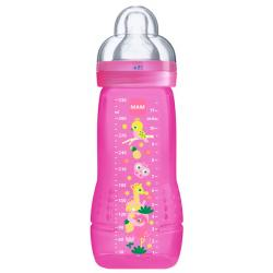 Bottle Biberón SILICONA +4M (330ml)