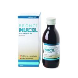 BRONCIMUCIL 0,25% SUSPENSION ORAL (200ml)