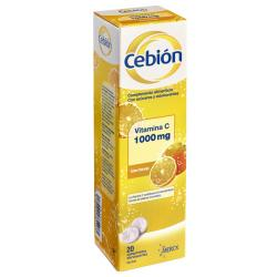 Cebión Vitamina C 1000mg (20 comp. efervescentes)