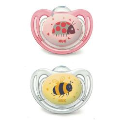 Chupete Silicona Little Friends (2uds)
