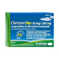 CLARITYNE PLUS 10mg/240mg (7 comprimidos)