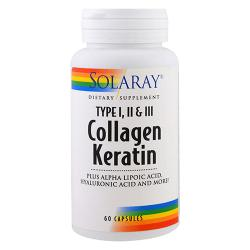 Collagen Keratin (60 caps)