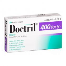 DOCTRIL 400 FORTE BLISTER (20comp)