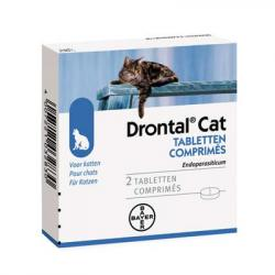 Drontal gatos (2 comp)