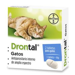 Drontal gatos (2 tabs)
