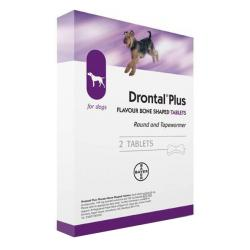 Drontal Plus Perros (2 comp)