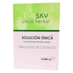 EyeSky Herbal Solución Unica (360ml x  2UNIDADES)