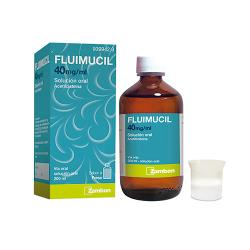 FLUIMUCIL 40mg/ml SOLUCION ORAL (200ml)