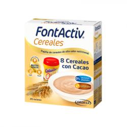 FONTACTIV 8 CEREALES + CACAO (600g)