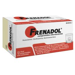 FRENADOL (10 COMP.EFERVESCENTES)