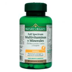 FULL SPECTRUM Multivitaminas y Minerales (60comp)