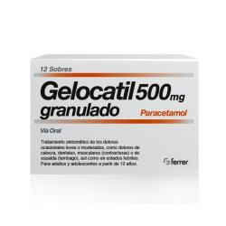GELOCATIL 500mg GRANULADO (12 sobres)