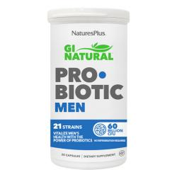 GI NATURAL PROBIOTIC MEN sin gluten (30CAPS)