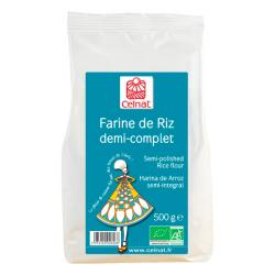 Harina de Arroz SEMI Integral (500g)
