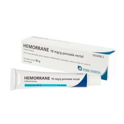 HEMORRANE 10mg/g POMADA RECTAL (30g)