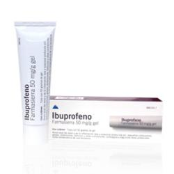 IBUPROFENO FARMASIERRA 50mg/g GEL (50g)