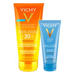 Ideal Soleil Leche-GEL Ultra-Fundente Cuerpo SPF30 (200ml) + After SUN (100ml) REGALO!!