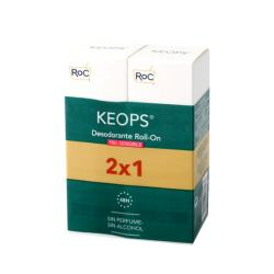 Keops Desodorante Roll-on Piel Sensible  (30ml x 2 UNIDADES)