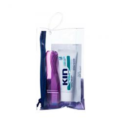 KIT ADULTO VIAJE CEPILLO + PASTA DENTAL KIN (25ml)