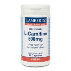 L-Carnitina 500mg (60caps)