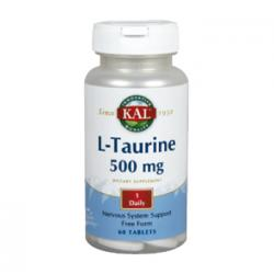 L-Taurina 500mg (60caps)
